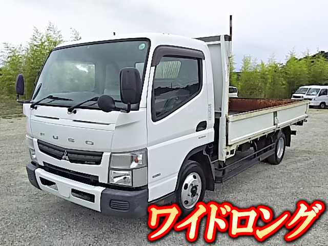 MITSUBISHI FUSO Canter Flat Body SKG-FEB50 2011 103,000km_1