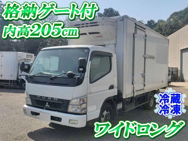 MITSUBISHI FUSO Canter Refrigerator & Freezer Truck PDG-FE84DV 2008 418,278km_1
