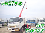 Canter Truck (With 3 Steps Of Unic Cranes)