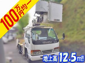 ISUZU Elf Cherry Picker KC-NKR66E2N 1997 82,531km_1