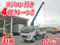 MITSUBISHI FUSO Canter Truck (With 4 Steps Of Cranes) PA-FE73DEN 2005 184,000km_1
