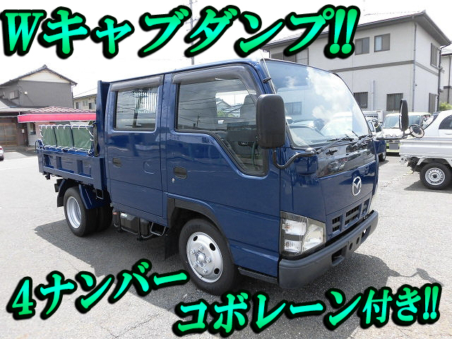 MAZDA Titan Double Cab Dump PB-LKR81AD 2004 142,369km_1