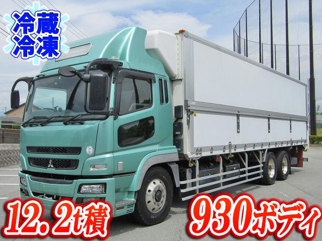 MITSUBISHI FUSO Super Great Refrigerator & Freezer Wing BDG-FU54JZ 2009 1,023,106km_1