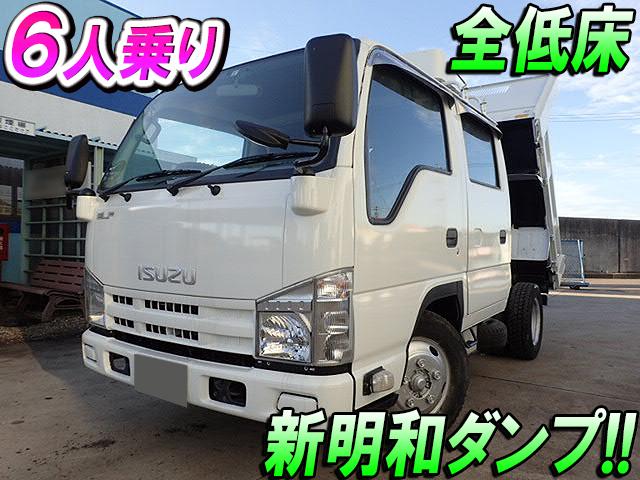 ISUZU Elf Double Cab Dump TKG-NJR85AD 2013 102,000km_1