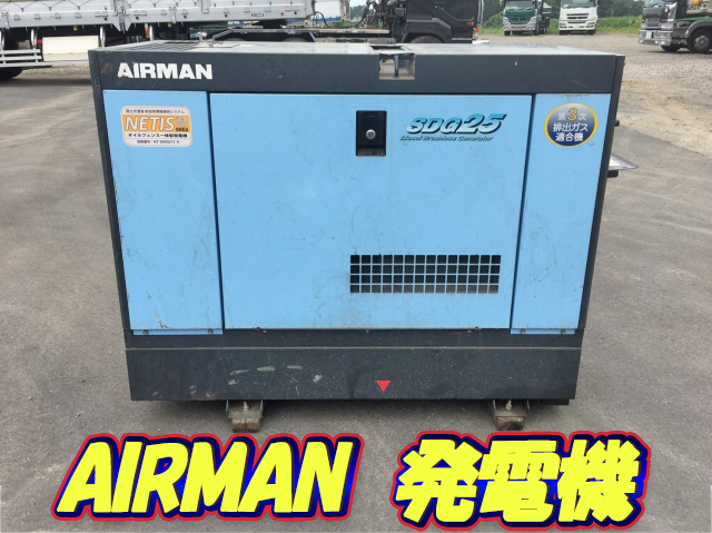 HOKUETSU INDUSTRIES Airman Generator SDG25S  1,380h_1