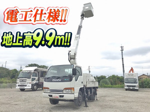ISUZU Elf Cherry Picker KK-NKR66EP 2001 209,216km_1