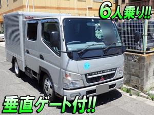MITSUBISHI FUSO Canter Aluminum Van PA-FE70DB 2007 153,379km_1