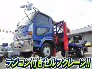 MITSUBISHI FUSO Fighter Self Loader (With 3 Steps Of Cranes) KK-FK71GJ 2000 88,000km_1