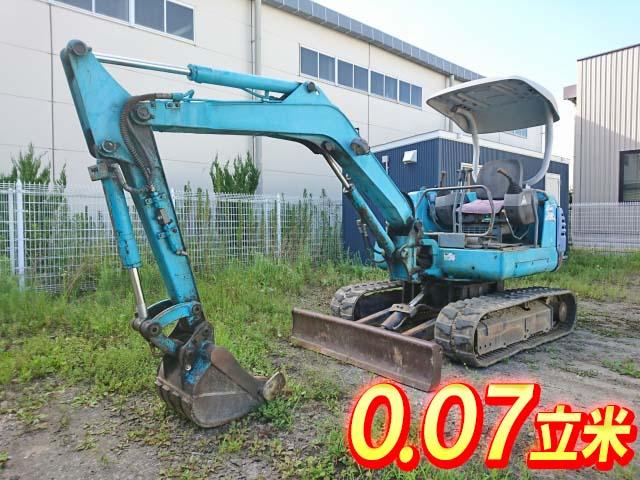 KUBOTA  Mini Excavator K-025  2,098h_1