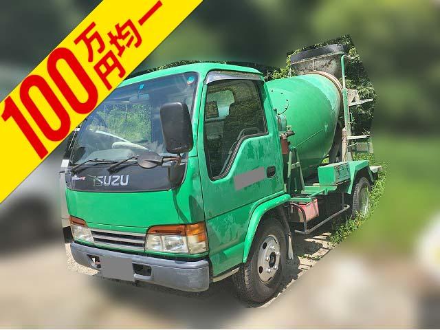 ISUZU Elf Mixer Truck KK-NKR71E3N 2001 264,447km_1