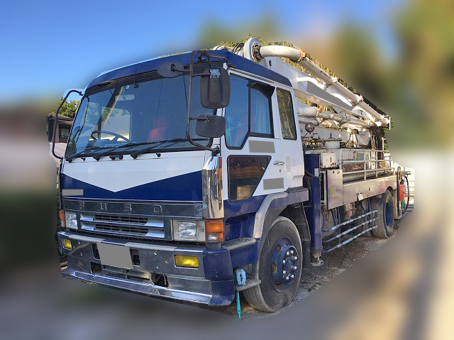MITSUBISHI FUSO Super Great Concrete Pumping Truck U-FP415J (KAI) 1991 195,600km_1