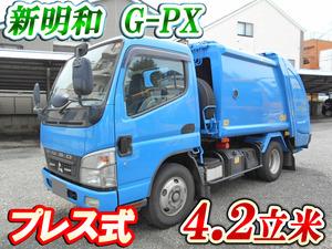 MITSUBISHI FUSO Canter Garbage Truck PDG-FE73D 2009 210,000km_1