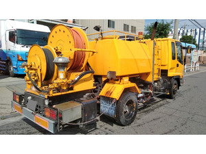 Forward High Pressure Washer Truck_2