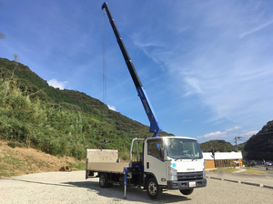 Elf Truck (With 5 Steps Of Cranes)_2