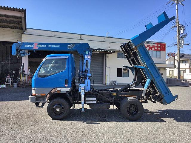 Japanese Used MITSUBISHI FUSOCanter Dump (With Crane) KC