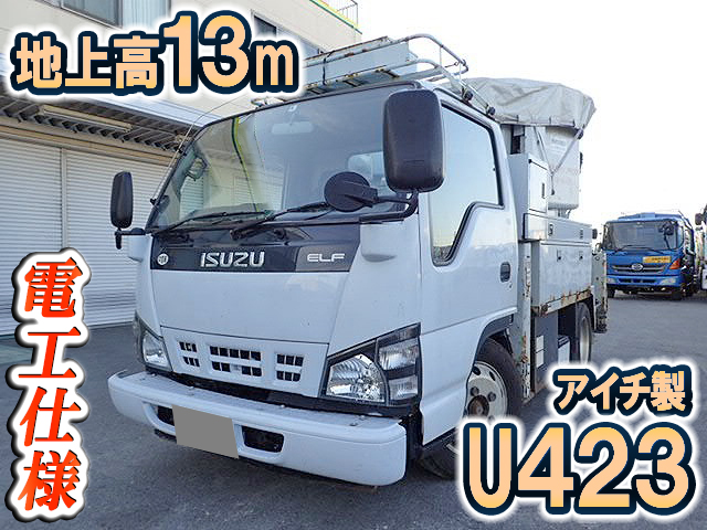 ISUZU Elf Cherry Picker PB-NKR81AN 2007 98,978km_1