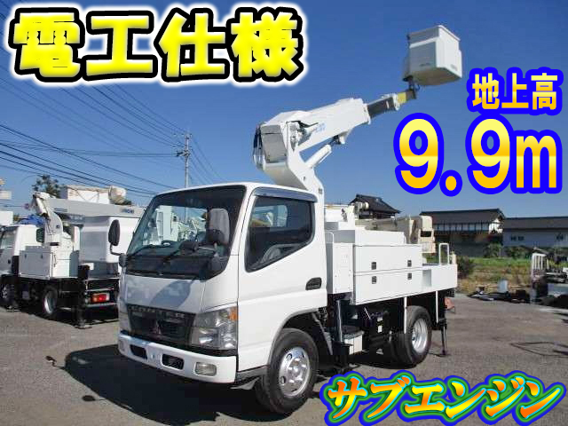 MITSUBISHI FUSO Canter Cherry Picker PA-FE73DB 2005 110,000km