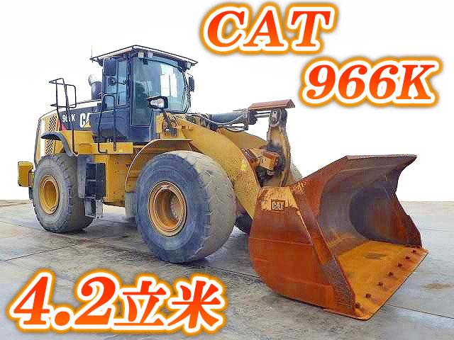 CAT  Wheel Loader 966K 2014 12,597h_1