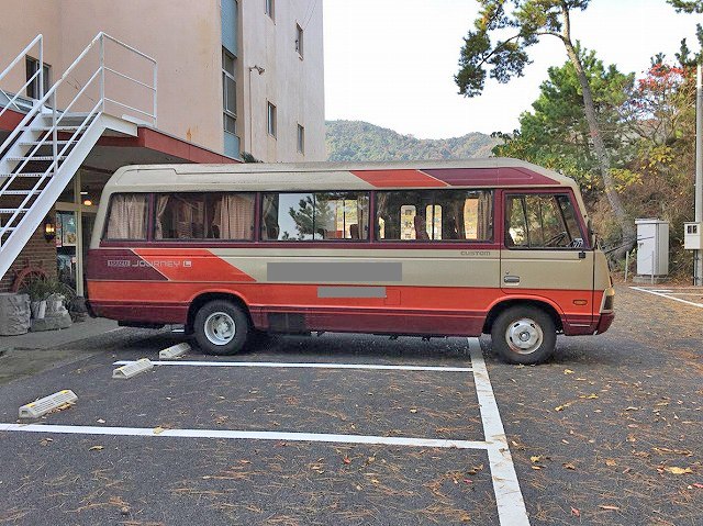 Japanese Used ISUZUJourney Micro Bus P-BE22 1989 for Sale
