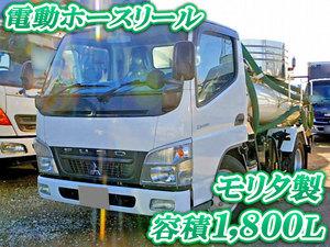 MITSUBISHI FUSO Canter Vacuum Truck PDG-FE73D 2010 149,417km_1