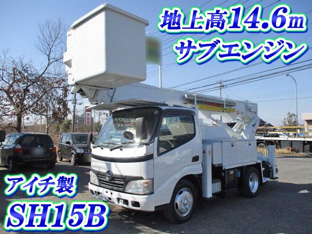HINO Dutro Cherry Picker BDG-XZU304M 2008 110,235km_1