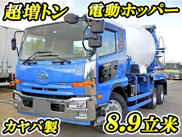 UD TRUCKS Condor Mixer Truck QDG-PW39L 2013 94,288km_1