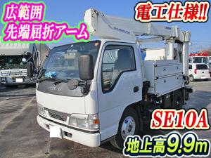 ISUZU Elf Cherry Picker KR-NKR81EP 2003 128,360km_1