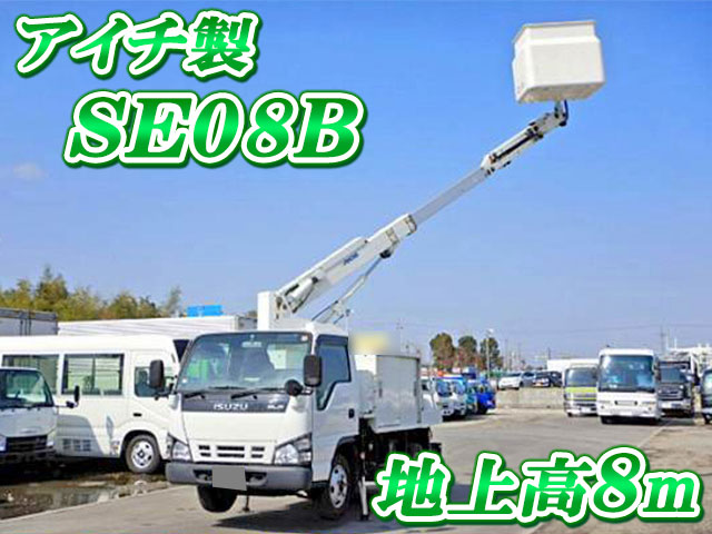 ISUZU Elf Cherry Picker PB-NKR81AN 2006 72,000km_1