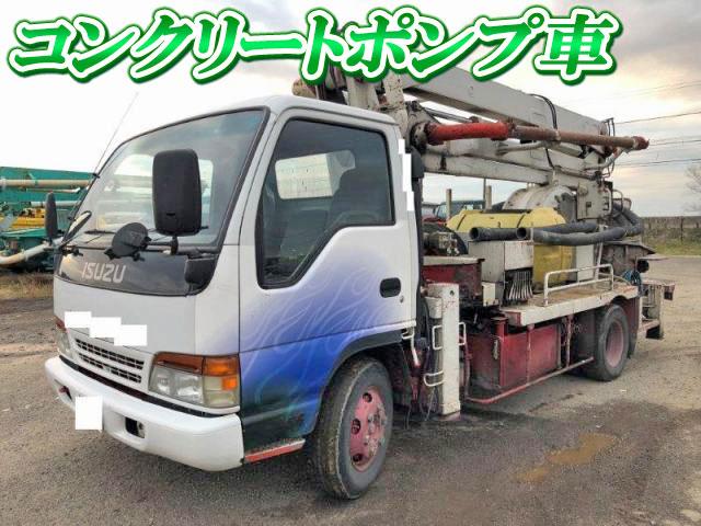 ISUZU Elf Concrete Pumping Truck KC-NPR70LYR 1996 254,582km_1