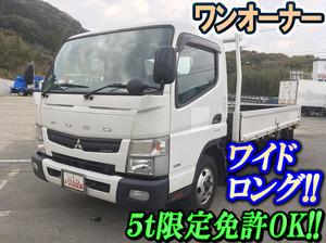 MITSUBISHI FUSO Canter Flat Body TKG-FEB50 2014 222,463km_1