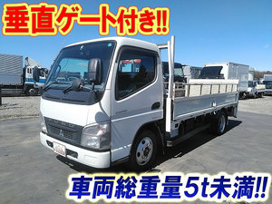 MITSUBISHI FUSO Canter Flat Body (With Power Gate) PDG-FE72B 2010 158,084km_1