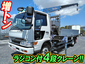 HINO Ranger Truck (With 4 Steps Of Cranes) KL-FJ1JJDA 2000 -_1