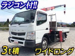 MITSUBISHI FUSO Canter Truck (With 3 Steps Of Unic Cranes) TKG-FEB50 2015 57,327km_1