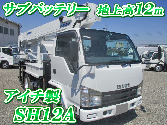 ISUZU Elf Cherry Picker BKG-NKR85N 2009 123,634km_1