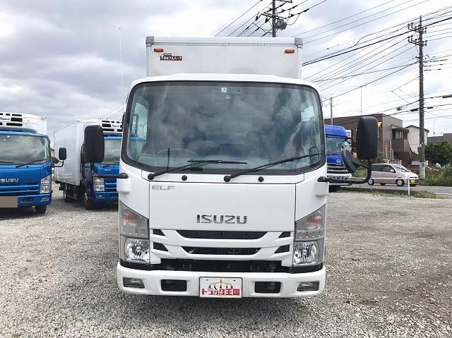 Japanese Used ISUZUElf Aluminum Van TRG-NLR85AN 2018 for