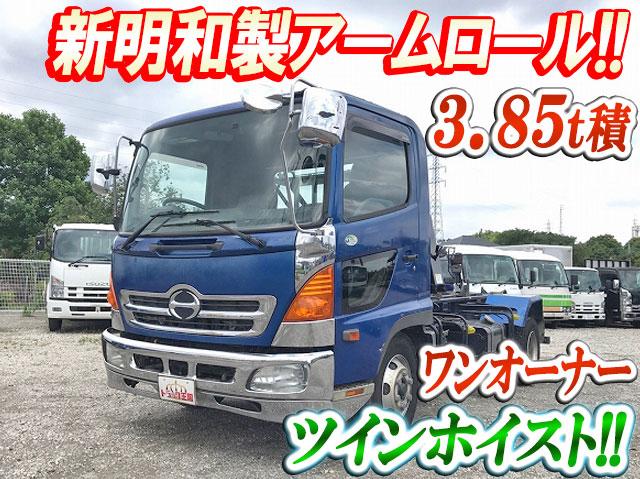 HINO Ranger Arm Roll Truck ADG-FC7JEWA 2005 101,781km_1