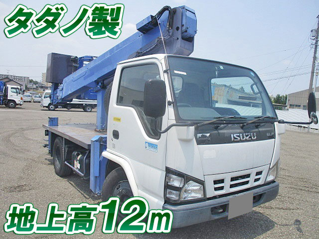 ISUZU Elf Cherry Picker PB-NKR81N 2006 43,650km
