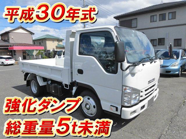 Japanese Used ISUZUElf Dump TPG-NJR85AD 2018 for Sale | Inquiry