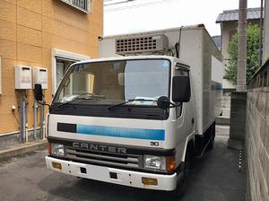 Canter Refrigerator & Freezer Truck_2