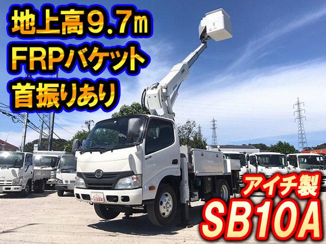 HINO Dutro Cherry Picker TKG-XZU600X 2012 110,729km_1