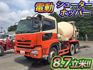 UD TRUCKS Quon Mixer Truck ADG-CW2XL 2006 194,165km_1