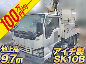 ISUZU Elf Cherry Picker PB-NKR81AN 2005 114,342km_1