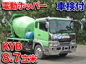 MITSUBISHI FUSO Super Great Mixer Truck KL-FV50KJXD 2005 267,148km_1