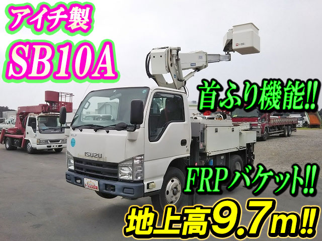 ISUZU Elf Cherry Picker TKG-NKR85AN 2012 53,097km_1