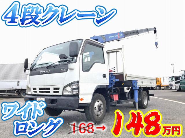 ISUZU Elf Truck (With 4 Steps Of Cranes) PB-NPR81AR 2006 -_1