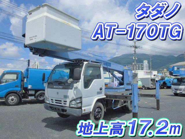 ISUZU Elf Cherry Picker PB-NKR81N 2005 28,000km_1