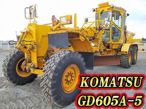 KOMATSU Motor Grader_1
