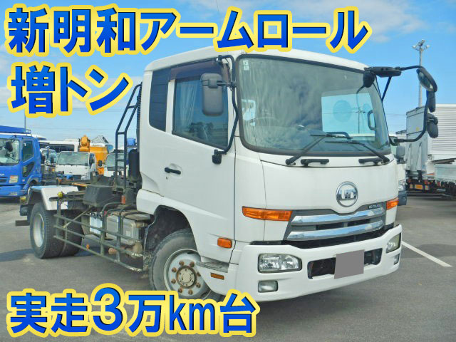 UD TRUCKS Condor Container Carrier Truck QKG-PK39LH 2014 37,231km_1