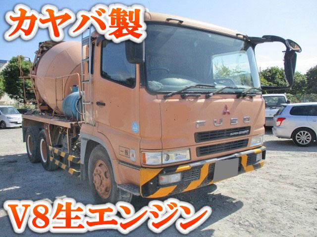 MITSUBISHI FUSO Super Great Mixer Truck KL-FV50KJXD 2004 236,704km_1