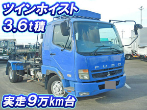 MITSUBISHI FUSO Fighter Container Carrier Truck PA-FK61F 2006 92,901km_1